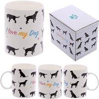 New Bone China Mug - I Love My Dog