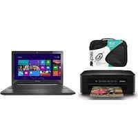 Lenovo G50-45 Laptop and Print Bundle