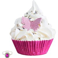 Jewel Bath Lavender Bath Cupcake