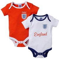 England Kit Pack of 2 Bodysuits