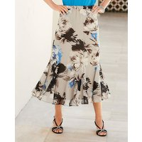 Nightingales Chiffon Printed Skirt
