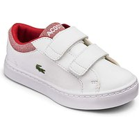 Lacoste Straightset Boys Infant Trainers