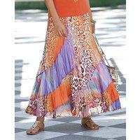 Together Print Maxi Skirt