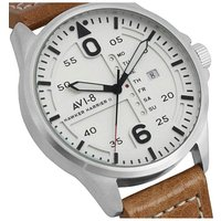 AVI-8 Hawker Harrier II Watch - Brown