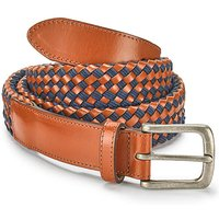Williams & Brown Leather Mix Weave Belt