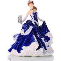 Midnight Romance Figurine with Swarovski