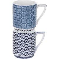 Ted Baker, Stacking Mug x2 - Balfour 3&4