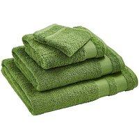 Egyptian Cotton Towel Range Leaf Green