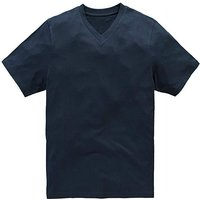 Capsule Navy V-Neck T-shirt Regular