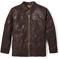 Premier Man Leather Harrington