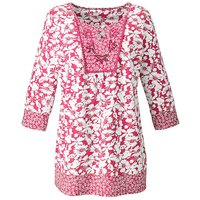 Embellished Cotton Jersey Tunic