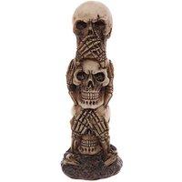 Gruesome Skull Totem Ornament