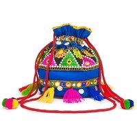 Glamorous Embroidered Duffle Bag