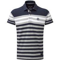 Tog24 Campbell Stripe Mens Polo Shirt
