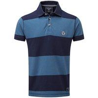 Tog24 Collins Stripe Mens Polo Shirt