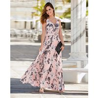 Together Print Maxi Dress