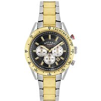 Rotary Gents Two Tone Chronograph Watch