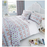 CL Embroidered Butterfly Bedspread