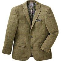 Black Label Checked Wool Blazer Regular