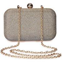 Alice Metallic Clutch Bag