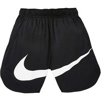 Nike Older Boys Black Vent Swoosh Shorts