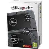 The New Nintendo 3DS XL Console - Black