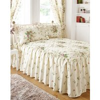 Vantona Madeleine Cream Fitted Bedspread