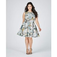 Closet Flared Skater Dress