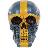 Novelty Swedish Skull Ornament