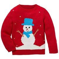 Christmas Snowman Knitted Jumper