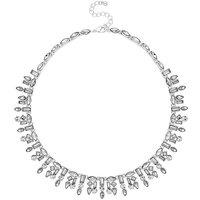 Jon Richard multi shape collar necklace