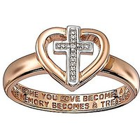Rose Gold Plated Memories Ring