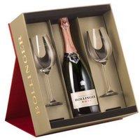 Bollinger Rosé Champage & Glasses Set
