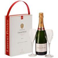 Laurent Perrier Champagne & Glasses