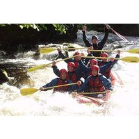 Saturday White Water Rafting Session For Six At Canolfan