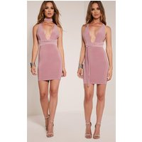 Lidia Mauve Multiway Bodycon Dress, Mauve