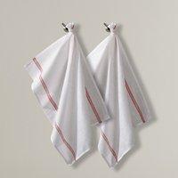 Pack of 2 Linen Glass Cloths