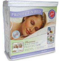 Protect A Bed Premium Waterproof Mattress Protector, Superking