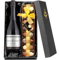 Personalised Prosecco & Chocolates