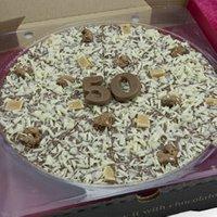 50th Birthday Chocolate Pizza 10