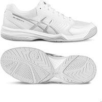 Asics Gel-Dedicate 5 Mens Tennis Shoes - White/Silver, 12 UK