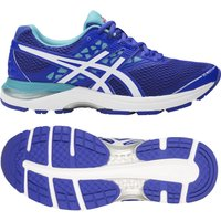 Asics Gel-Pulse 9 Ladies Running Shoes - Blue/White, 8 UK
