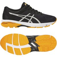 Asics GT-1000 6 Mens Running Shoes - Black/White, 12 UK