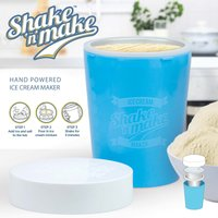 Mustard Shake n Make Hand Powered Ice Cream Maker