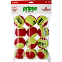 Prince Play and Stay Stage 3 Red Felt Mini Tennis Balls - 12 Pack