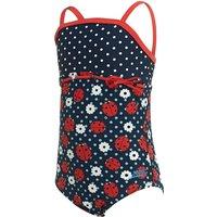 Zoggs Ladybug Classicback Girls Swimsuit - 2 Year