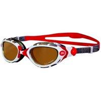 Zoggs Predator Flex Polarized Ultra Swimming Goggles SS16 - Red/White