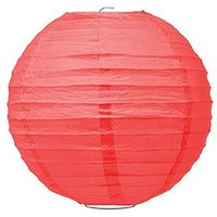 Small Paper Lantern - Red