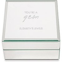 Mirrored Jewellery Box - Youre A Gem Printing
