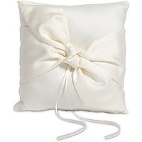 Beverly Clark Tie the Knot Collection Ring Cushion - Ivory